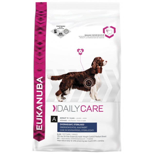 Eukanuba daily care weight care 2,5kg